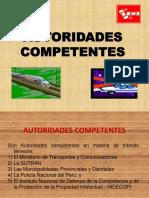 01 AUTORIDADES COMPETENTES