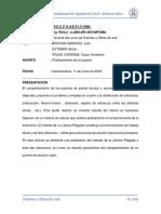 Informe de Planteamiento de Un Puente