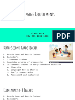 licensing requirements ppt  1