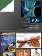 Lumbalgia y Lumbociatalgia1