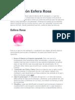 Meditación Esfera Rosa