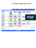 Horario ISPHDE