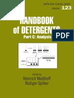 Handbook of Detergents Part C - Analysis