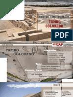 Tema.centro Arqueológico Tambo Colorado