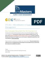 MITx MicroMasters SCM KeyConcepts
