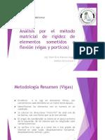 ANALISIS ESTRUCTURAL II Vigas Metodo Matricial de Rigideces.pdf