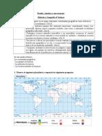 prueba  América y sus continentes Historia 4° basicos