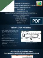 Universidad de Guayaquil SANITARIA III