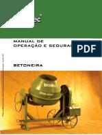 05 Manual Betoneira