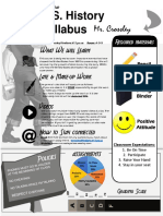 8th grade syllabus infographic
