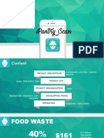 Pantry Scanner Project Management