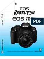 Manual Canon EOS Rebel T5i 700D