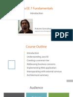 1 Java Ee 7 Fundamentals m1 Slides