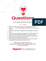 Digicel Foundations