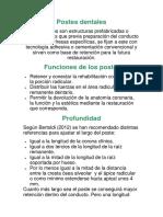 Consideraciones Generales de La Preparacion Radicular