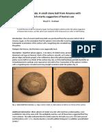 Object Study - Amarna Stone Ball