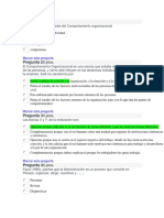 PARCIAL 1 SEMANA 4 COM´PORTAMIENTO ORGANIZACIONAL 11-20
