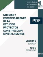 Volumen 6 Tomo IV Estructuras