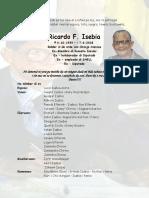 OFFICIEEL OVERLIJDENSBERICHT RICARDO ISEBIA