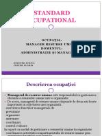 Standard Ocupational Grigore_Chiper