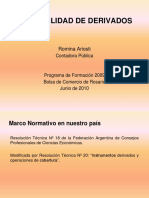 Contabilidad de Derivados - Romina Ariosti