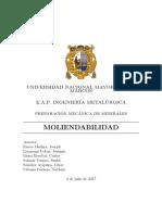informe 5 moliendabilidad