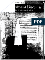 Jean-Jacques Nattiez-Music and Discourse-Princeton University Press (1990)