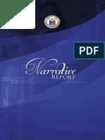 SC Annual 2014 Narrative Report