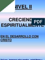 En El Desarrollo Con Cristo