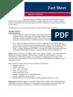 FEMA Disaster Assistance Fact Sheet