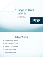 CAD and Statin