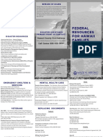 Disaster Resources Pamphlet - Hawaii Island