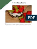 Aardbeien Van Vilt Makkelijk Patroon
