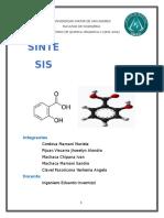 Informe Obtencion Del Acido Salicilico