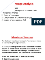 Leverage Analysis