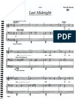 Last Midnight Sheet Music