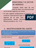 04.- Economia Cuatro Sectores.