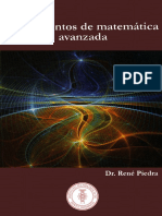 Piedra,René - Fundamentos de Matemática Avanzada