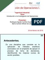 Formulación de Modelos (Investigación de Operaciones)