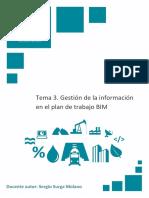 01 Temario M1T3 Gestión de La Información en El Plan de Trabajo BIM CO
