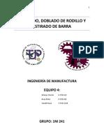 Cizallado, Dob. de Rod, Est. de Barra
