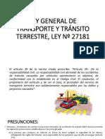 Ley N° 27181