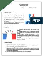 Guía de Preparación Debate