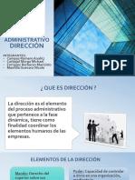 P. adm direccion.pptx