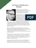 Dámaso Alonso y Fernández de Las Redondas