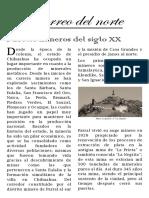 Periodico Mural Pueblos Mineros