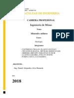 Sulfuros Informe