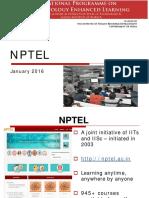About Nptel-jan 2016