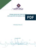 Methodologie d Elaboration de l Indicateur de l Inflation Sous Jacente de Bank Al Maghrib