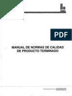 Manual de Producto Terminado